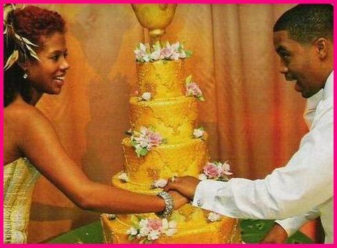 Nas and Kelis Wedding Cake